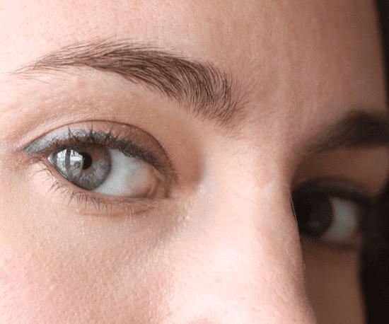 Blue Eye Shadow Experiment