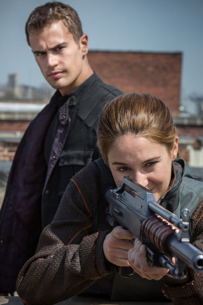 Divergent This is the first year in a long time that there will be no Twilight movie filling up Hall H, but don't worry: there are plenty of YA adaptations ready to take its place. One of them is Divergent, the postapocalyptic tale about a teen named Tris (Shailene Woodley) who lives in a society where everyone is divided based on factions. We've only seen some pictures from Divergent, and my fingers are crossed that we'll actually get some footage at the convention.