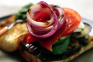 Monday's Leftovers: Grilled Veggie Panini
