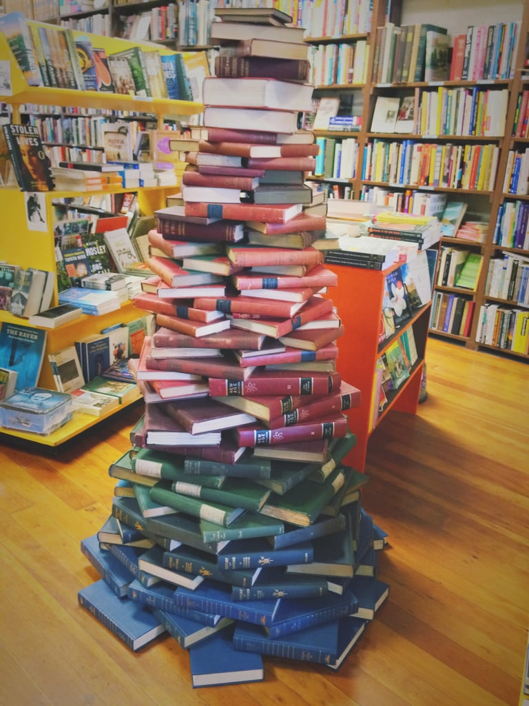 Your friends know which bookstore is your favorite because you spend so much time there.