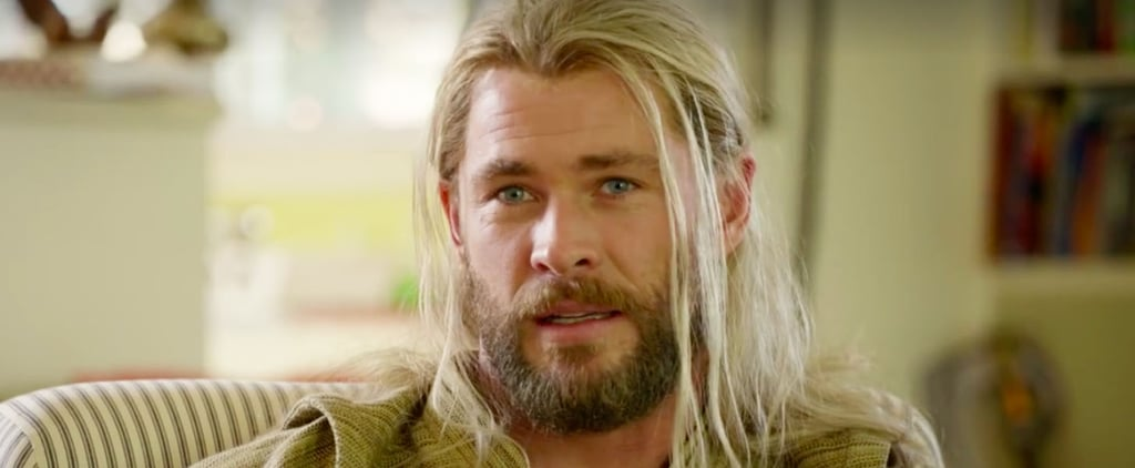 Chris Hemsworth Dons His Swimming Trunks to Explain Why Thor Wasn't in Captain America: Civil War