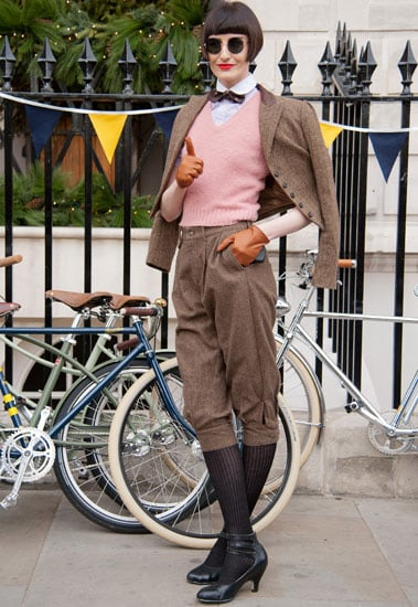 Londoners Hit the Roads for the Ralph Lauren Rugby Tweed Run