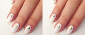 Try a White-Hot Nail Design For Summer