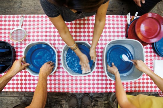 How to Wash Camp Dishes in the Woods (Under the Stars)