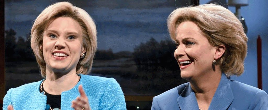Amy Poehler and Tina Fey Reprise Their Roles as Hillary Clinton and Sarah Palin on SNL