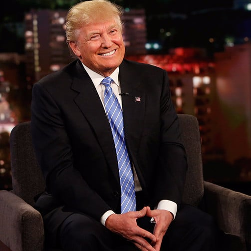 Donald Trump on Jimmy Kimmel May 2016