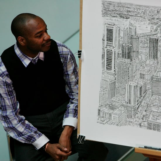 Man Draws Cities From Memory