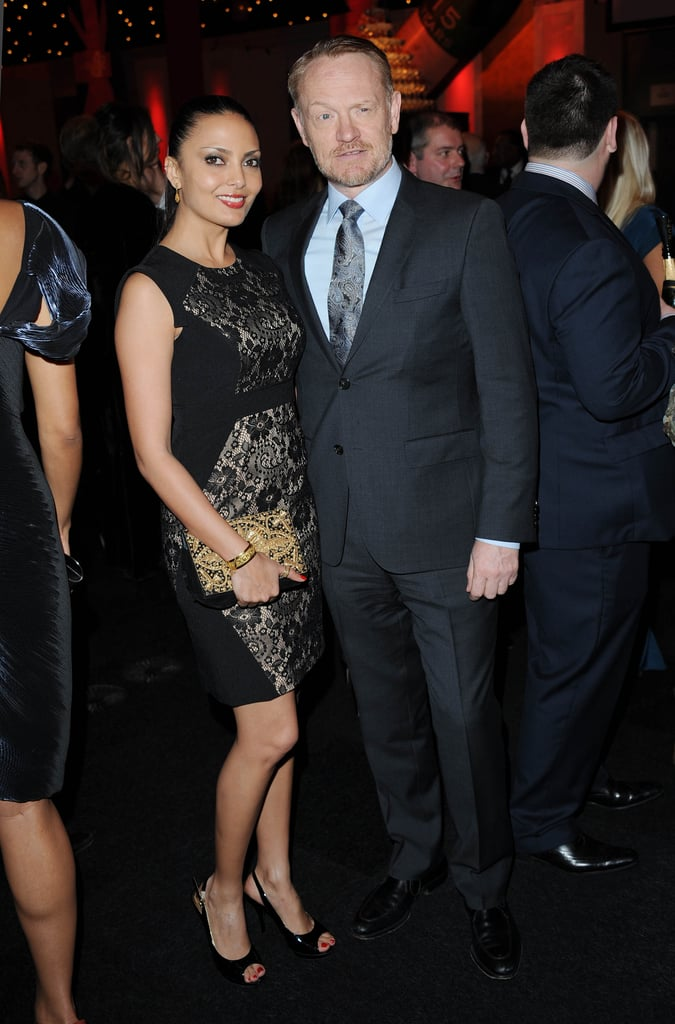 Mad Men's Jared Harris made an appearance at the BIFAs.