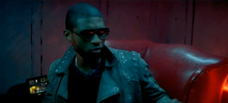 Photos of the Sony Dash in an Usher Video