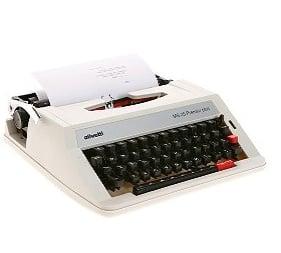Photos of Olivetti Typewriter