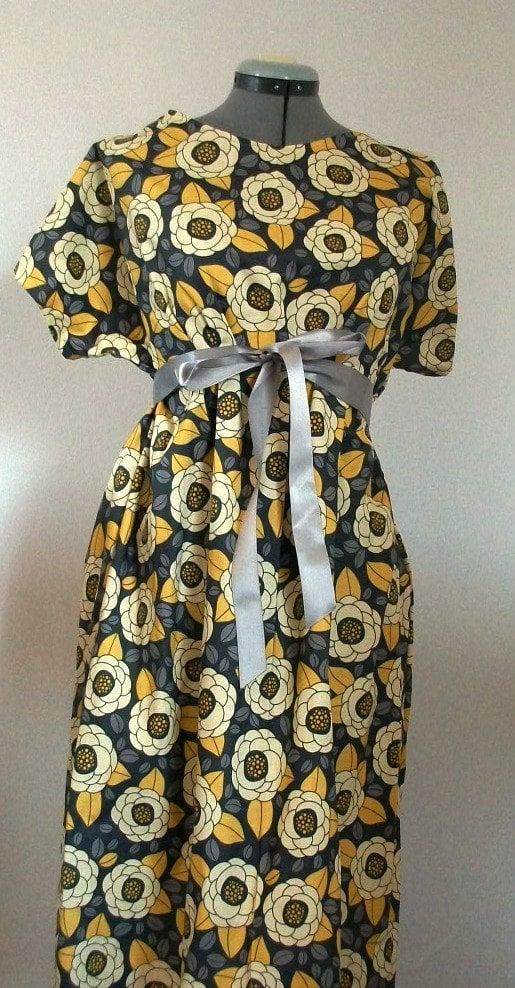 Granite Bloom Maternity Gown ($47)