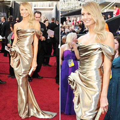 Stacy Keibler at Oscars 2012