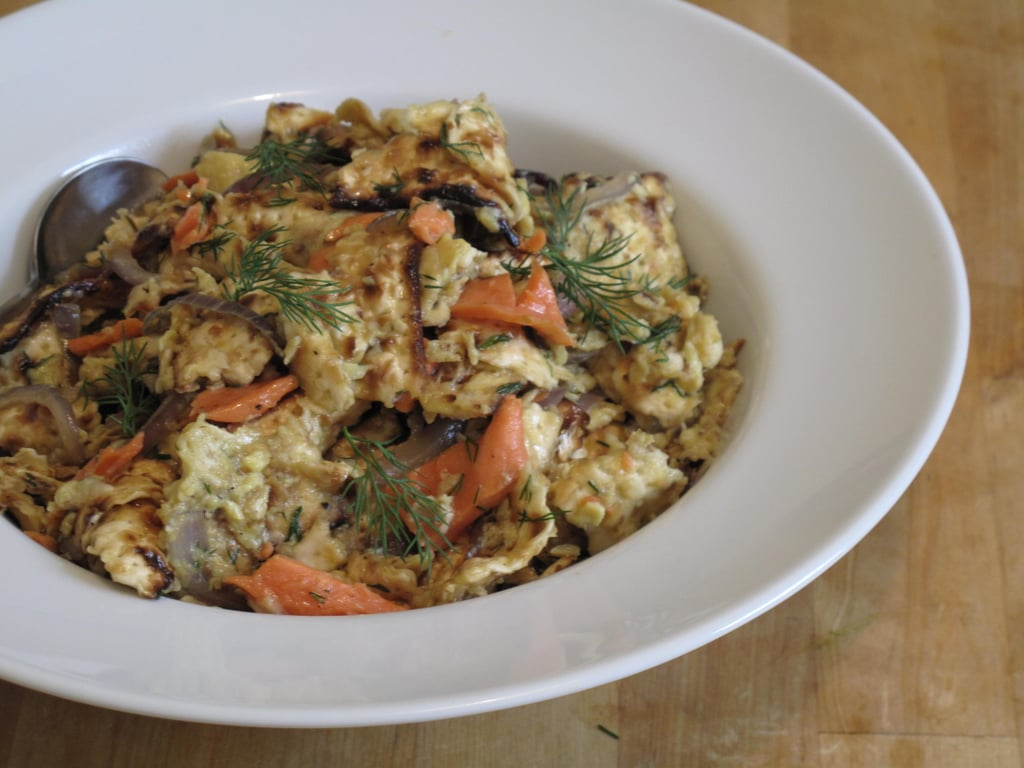 Pictures of Matzo Brei With Lox