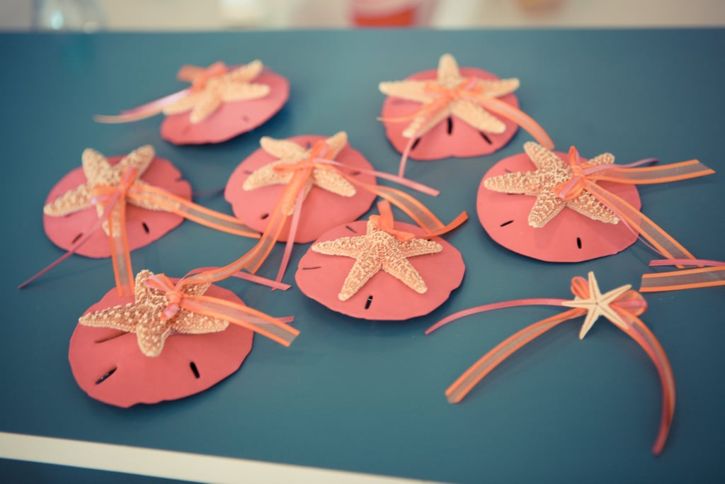 3. Starfish and Sand Dollar Boutonnieres