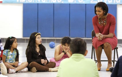 Second-Grader Asks Michelle Obama About Immigration Papers