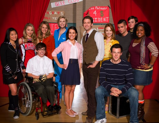 Watch the UK Preview for Glee Episode 5 Series 1 Guest Starring Kristin Chenoweth