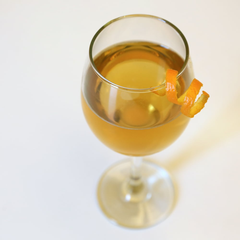 Sparkling Bourbon Cocktail