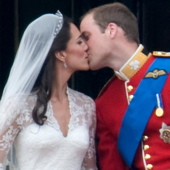 Prince William and Kate Middleton Kiss After Royal Wedding