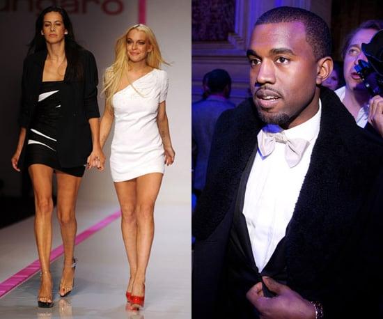 Kanye West Slates Lindsay Lohan for Ungaro and Compares to 9/11