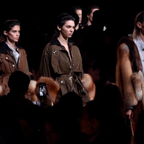 Kendall Jenner at Fashion Week Fall '16