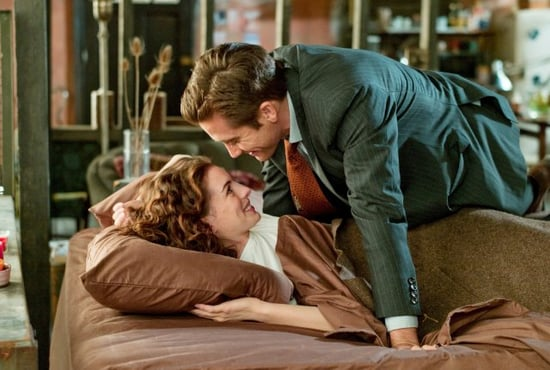 Pictures of Jake Gyllenhaal and Anne Hathaway in Love and Other Drugs