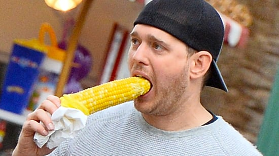 Michael Buble Reacts to Corngate: 'This Is Vegetable Harassment!'