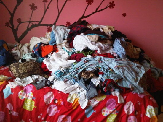The laundry piles up...