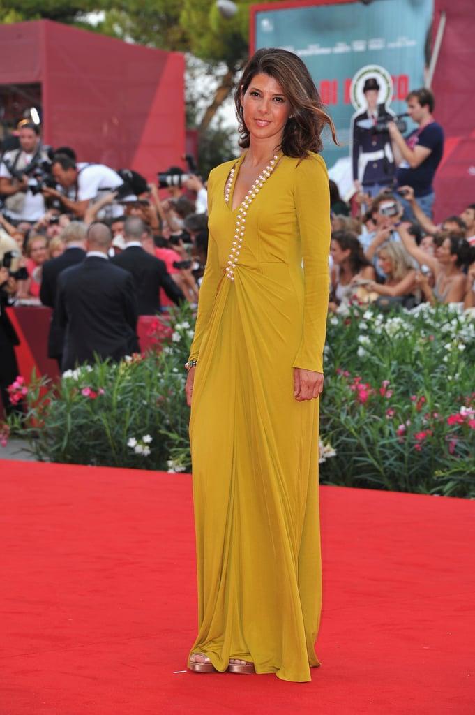 Marisa Tomei at the Venice Film Festival.