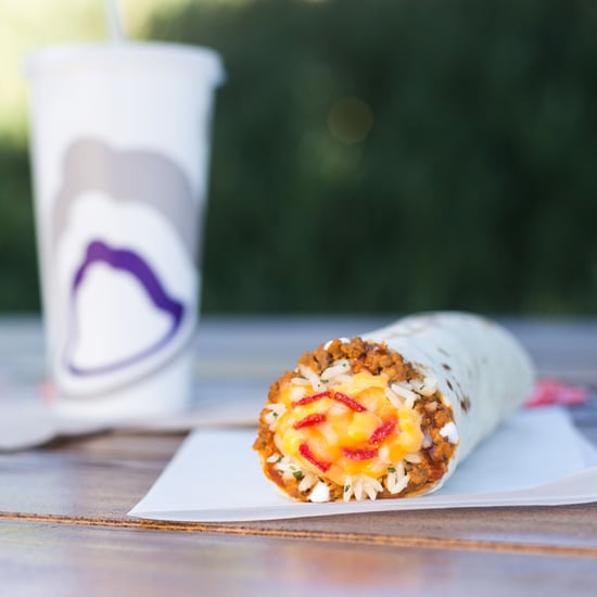 Taco Bell Cheesy Core Burrito