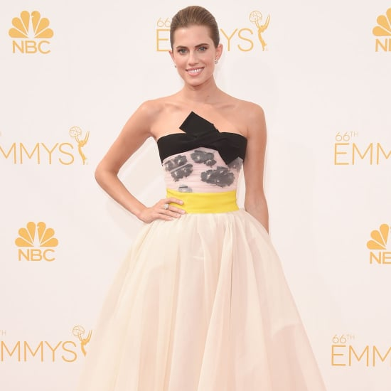 Allison Williams's Dress at Emmys 2014
