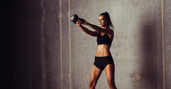 Kick Your Strength Training Into High Gear with a 30-Minute Kettlebell Workout