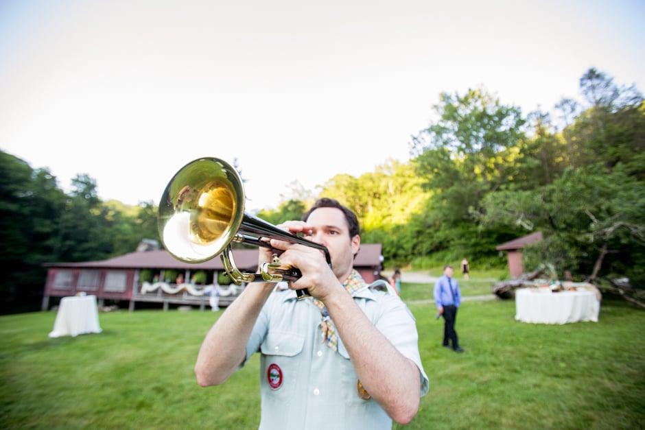 Trumpet Calls For Dinner