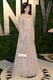 Zooey Deschanel arrived at the Vanity Fair Oscar Party on Sunday night.