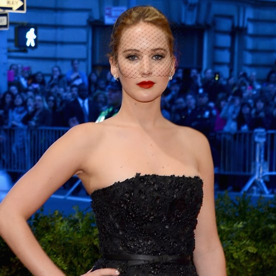 Jennifer Lawrence Wears Dior Dress to 2013 Met Gala Ball