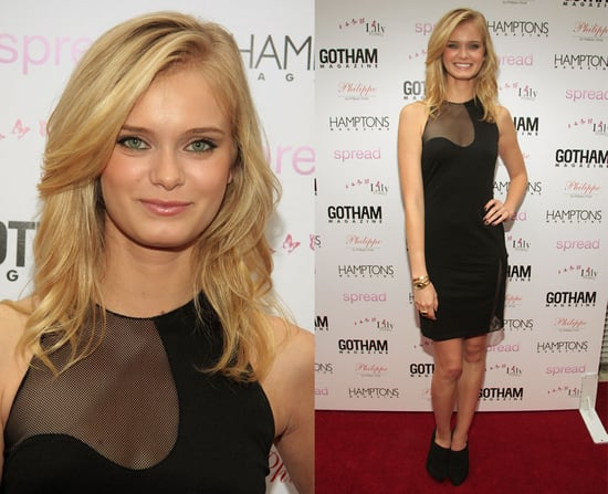 The Beautiful Life's Sara Paxton Attends The AXE Lounge For Launch Of New AXE Sensitive Skin in Alexander Wang Sheer LBD