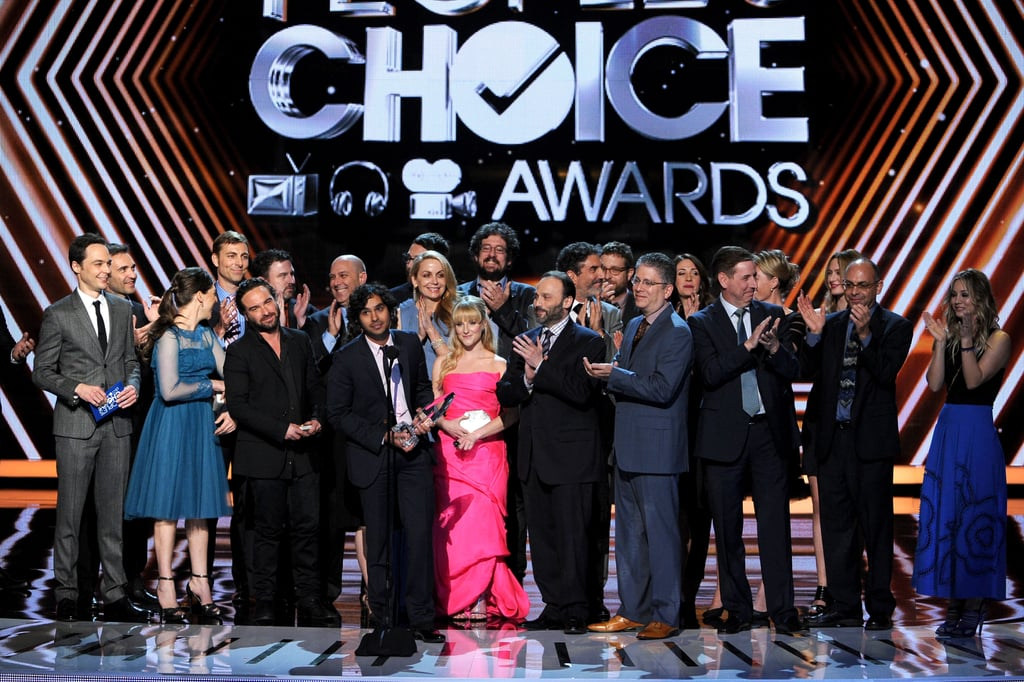 The cast of The Big Bang Theory closed out the night when they took home favorite network TV comedy.