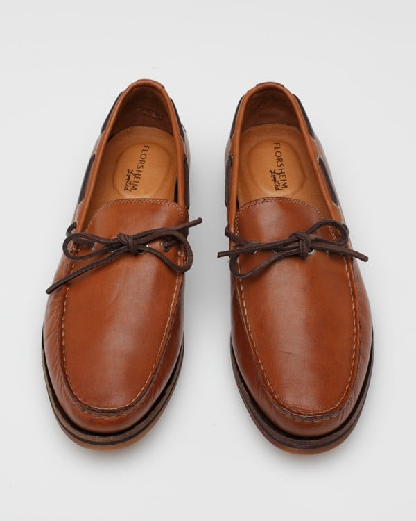 The classic slip-on leather loafer in a dad-friendly shade of tan.  Florsheim Tienomite Shoes ($120)