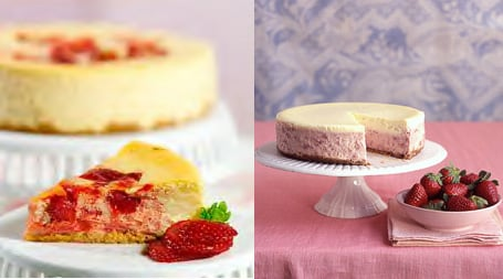 Strawberry Cheesecake Two Ways - Beginner & Expert