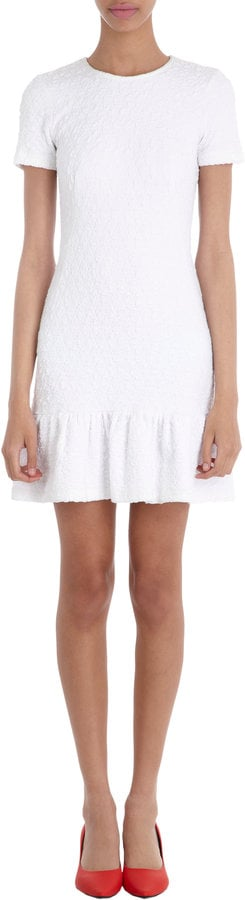 Opening Ceremony White Ruffle Dress