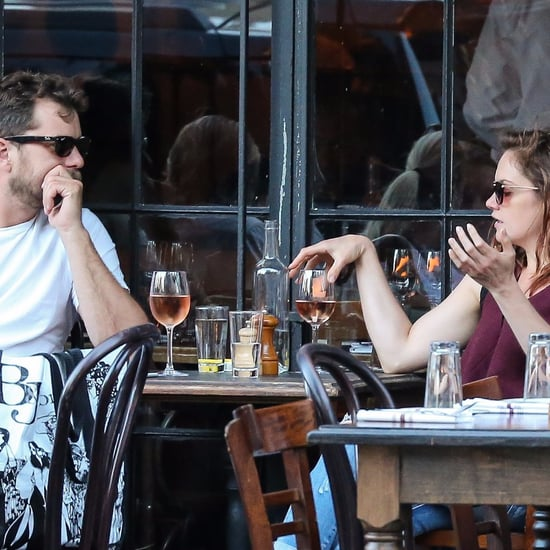 Joshua Jackson and Ruth Wilson Drinking in NYC August 2016