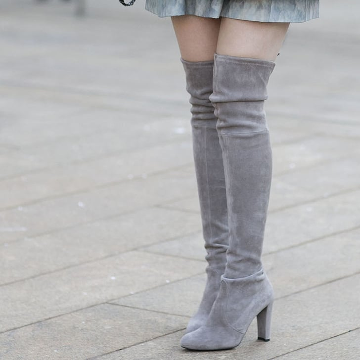 a guide to wearing knee high boots popsugar fashion