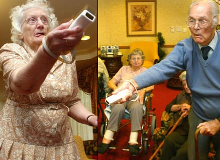 Seniors Still Love The Wii