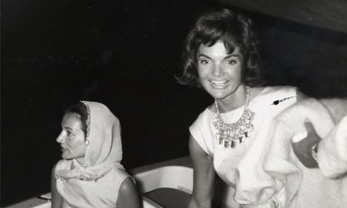 On Almost Getting to Work With Jacqueline Kennedy: