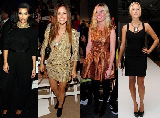 Photos of Fashion Week Tuesday