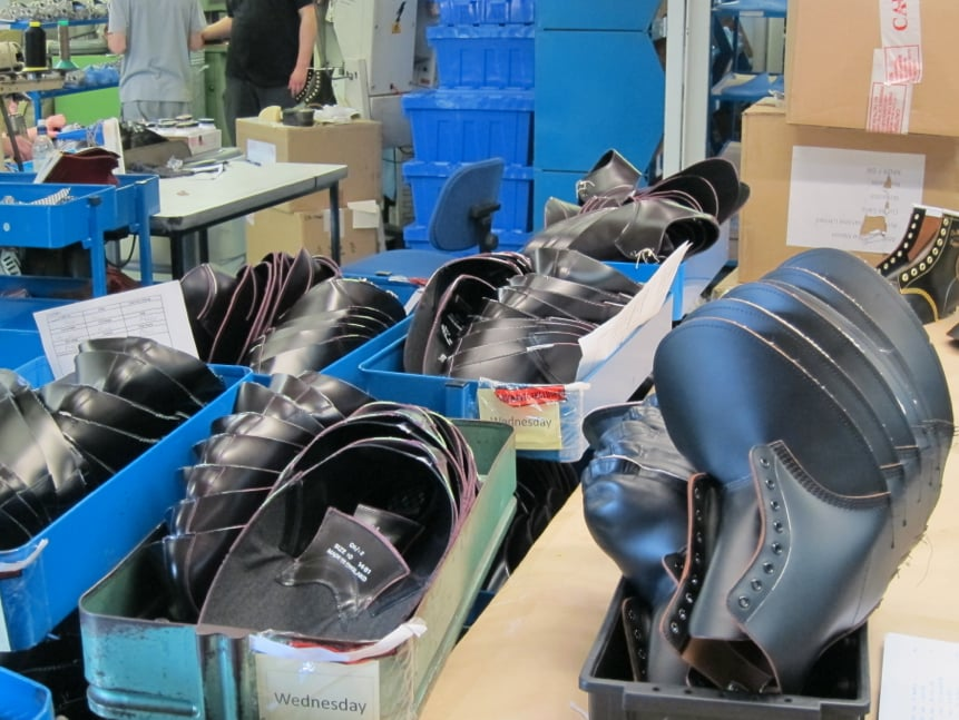 See How a Dr. Martens Shoe Is Made