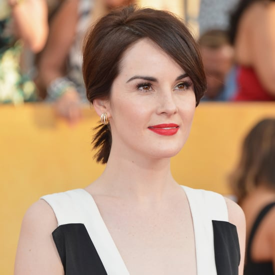 Michelle Dockery's Hair and Makeup at SAG Awards 2014