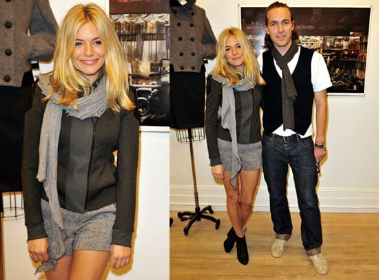 Photos of Sienna Miller at a Rag and Bone Shop Opening