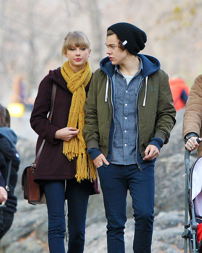 See Taylor Swift and One Direction's Harry Styles' Romantic Zoo Day!