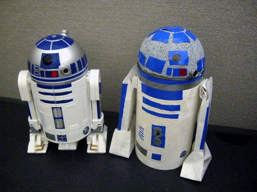 Create Your Own R2-D2 Pinhole Camera