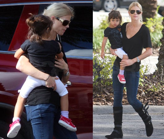 Photos of Tiger Woods Wife Elin Out With Kids For First Time Since Accident, Infidelity Claims